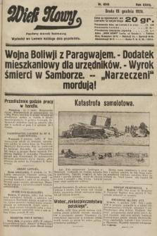 Wiek Nowy : popularny dziennik ilustrowany. 1928, nr8249