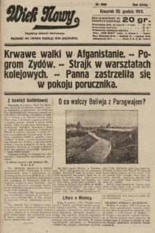 Wiek Nowy : popularny dziennik ilustrowany. 1928, nr8250