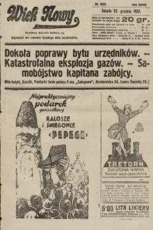 Wiek Nowy : popularny dziennik ilustrowany. 1928, nr8252