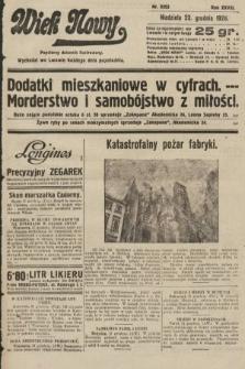 Wiek Nowy : popularny dziennik ilustrowany. 1928, nr8253