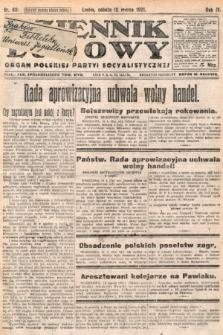 Dziennik Ludowy : organ Polskiej Partyi Socyalistycznej. 1921, nr60