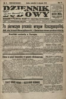Dziennik Ludowy : organ Polskiej Partyi Socyalistycznej. 1923, nr2