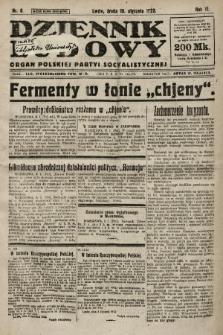 Dziennik Ludowy : organ Polskiej Partyi Socyalistycznej. 1923, nr6