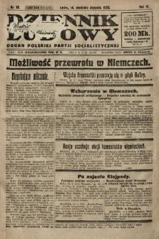 Dziennik Ludowy : organ Polskiej Partji Socjalistycznej. 1923, nr10