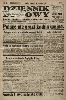 Dziennik Ludowy : organ Polskiej Partji Socjalistycznej. 1923, nr13