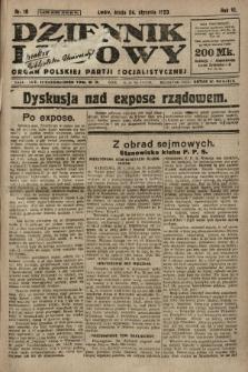Dziennik Ludowy : organ Polskiej Partji Socjalistycznej. 1923, nr18