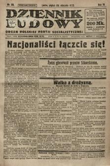 Dziennik Ludowy : organ Polskiej Partji Socjalistycznej. 1923, nr20