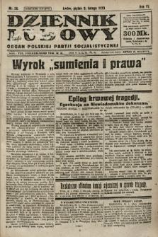 Dziennik Ludowy : organ Polskiej Partji Socjalistycznej. 1923, nr26