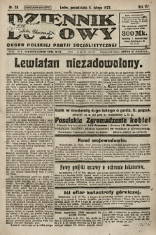 Dziennik Ludowy : organ Polskiej Partji Socjalistycznej. 1923, nr28