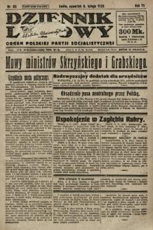 Dziennik Ludowy : organ Polskiej Partji Socjalistycznej. 1923, nr30