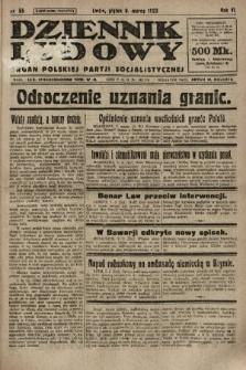 Dziennik Ludowy : organ Polskiej Partji Socjalistycznej. 1923, nr55