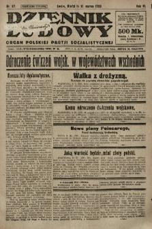 Dziennik Ludowy : organ Polskiej Partji Socjalistycznej. 1923, nr57