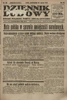 Dziennik Ludowy : organ Polskiej Partji Socjalistycznej. 1923, nr58