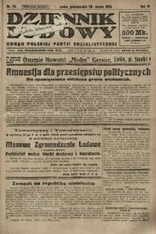 Dziennik Ludowy : organ Polskiej Partji Socjalistycznej. 1923, nr70