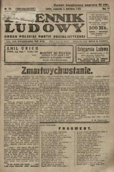 Dziennik Ludowy : organ Polskiej Partji Socjalistycznej. 1923, nr75
