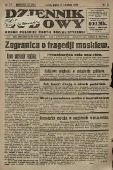 Dziennik Ludowy : organ Polskiej Partji Socjalistycznej. 1923, nr77