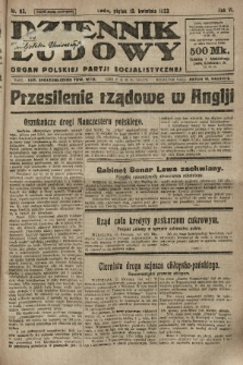 Dziennik Ludowy : organ Polskiej Partji Socjalistycznej. 1923, nr83