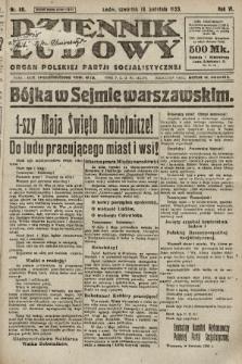 Dziennik Ludowy : organ Polskiej Partji Socjalistycznej. 1923, nr88