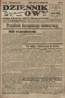Dziennik Ludowy : organ Polskiej Partji Socjalistycznej. 1923, nr90