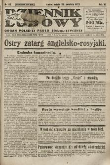 Dziennik Ludowy : organ Polskiej Partji Socjalistycznej. 1923, nr96