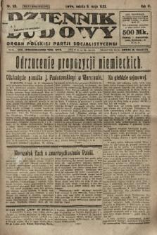 Dziennik Ludowy : organ Polskiej Partji Socjalistycznej. 1923, nr101