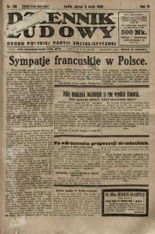 Dziennik Ludowy : organ Polskiej Partji Socjalistycznej. 1923, nr106