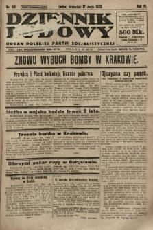 Dziennik Ludowy : organ Polskiej Partji Socjalistycznej. 1923, nr110