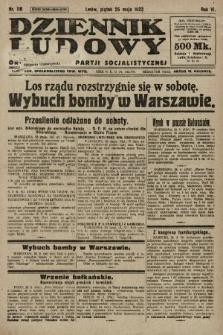 Dziennik Ludowy : organ Polskiej Partji Socjalistycznej. 1923, nr116