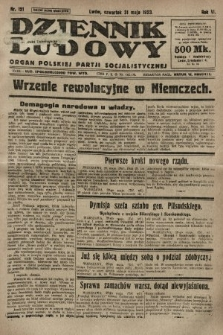 Dziennik Ludowy : organ Polskiej Partji Socjalistycznej. 1923, nr121