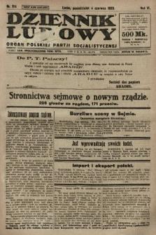 Dziennik Ludowy : organ Polskiej Partji Socjalistycznej. 1923, nr124