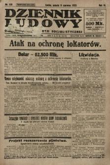 Dziennik Ludowy : organ Polskiej Partji Socjalistycznej. 1923, nr128