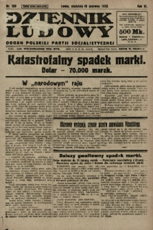 Dziennik Ludowy : organ Polskiej Partji Socjalistycznej. 1923, nr129