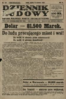 Dziennik Ludowy : organ Polskiej Partji Socjalistycznej. 1923, nr133