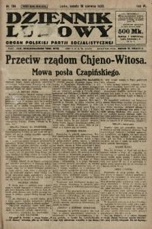 Dziennik Ludowy : organ Polskiej Partji Socjalistycznej. 1923, nr134