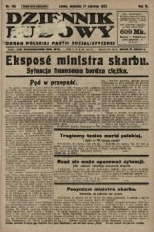 Dziennik Ludowy : organ Polskiej Partji Socjalistycznej. 1923, nr135