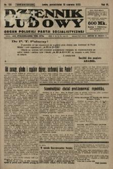 Dziennik Ludowy : organ Polskiej Partji Socjalistycznej. 1923, nr136