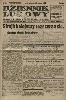 Dziennik Ludowy : organ Polskiej Partji Socjalistycznej. 1923, nr144