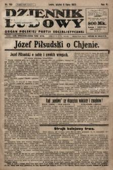 Dziennik Ludowy : organ Polskiej Partji Socjalistycznej. 1923, nr150