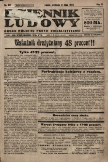 Dziennik Ludowy : organ Polskiej Partji Socjalistycznej. 1923, nr152