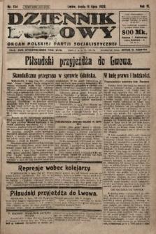 Dziennik Ludowy : organ Polskiej Partji Socjalistycznej. 1923, nr154