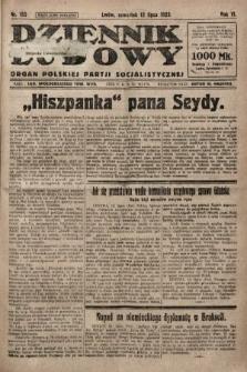 Dziennik Ludowy : organ Polskiej Partji Socjalistycznej. 1923, nr155