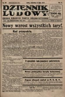 Dziennik Ludowy : organ Polskiej Partji Socjalistycznej. 1923, nr161