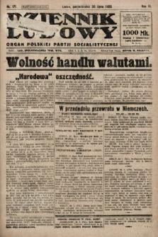 Dziennik Ludowy : organ Polskiej Partji Socjalistycznej. 1923, nr171