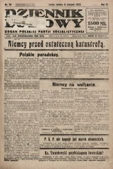 Dziennik Ludowy : organ Polskiej Partji Socjalistycznej. 1923, nr181