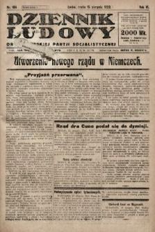 Dziennik Ludowy : organ Polskiej Partji Socjalistycznej. 1923, nr184