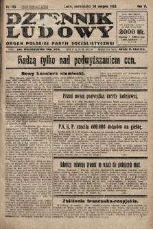 Dziennik Ludowy : organ Polskiej Partji Socjalistycznej. 1923, nr188