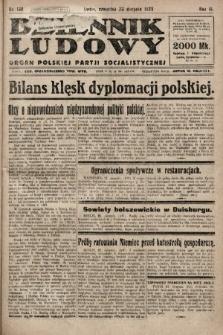 Dziennik Ludowy : organ Polskiej Partji Socjalistycznej. 1923, nr190