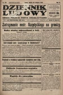 Dziennik Ludowy : organ Polskiej Partji Socjalistycznej. 1923, nr192