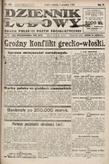 Dziennik Ludowy : organ Polskiej Partji Socjalistycznej. 1923, nr198