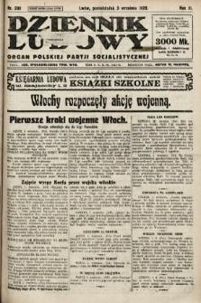 Dziennik Ludowy : organ Polskiej Partji Socjalistycznej. 1923, nr200